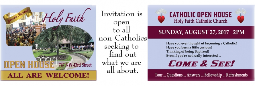 Catholic Open House