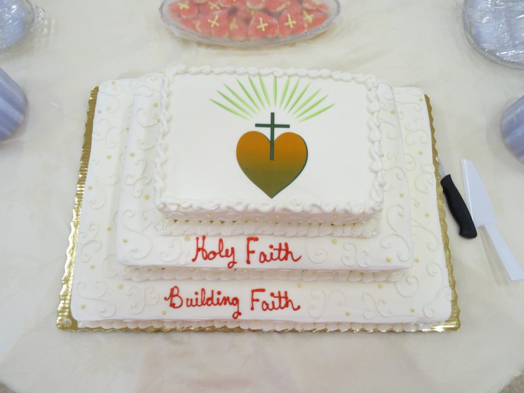 Cake - Holy Faith Building Faith